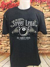 HOT WHEELS Street Legal Hot Rodders Choice Mattel El Segundo Gray T-Shirt XL
