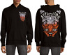 AFFLICTION Mens HOODIE Sweat Shirt Jacket TRUTH & CONSEQUENCE Biker $78 NWT