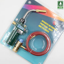 1.5m Hose Torch Bernzomatic Gas Welding Hose Mapp Ignition Start Stainless Steel