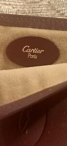 Cartier glasses case/ leather/ Mastline/ red gold/ finest quality!!
