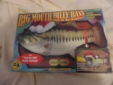 "Big Mouth Billy Bass 2000 Gemmy Industries ""Twas The Night Before Christmas"""