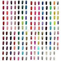 Soak Off UV LED Lamp Color Gel Polish 6ml Nail Art Tops Manicure Tips Decor 6ml