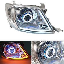 05+ Toyota Hilux Sr Vigo Projector Upgrade Head Lamp With Drl Hid Set Pickup