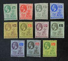 CKStamps: GB Montserrat Stamps Collection Scott#43-53 Mint 10H OG #53 NH