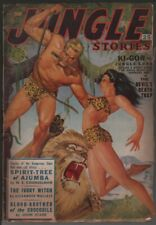 Jungle Stories 1951 Fall.   Pulp