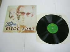 RECORD ALBUM ELTON JOHN CANDLE IN THE WIND 492