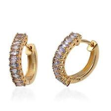 Tanzanite Not Enhanced Sterling Silver Fine Earrings