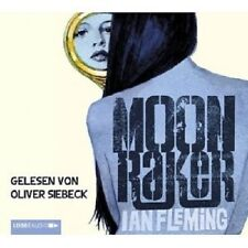 IAN FLEMING - JAMES BOND: MOONRAKER 4 CD HÖRBUCH KRIMI  NEU