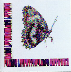 Pk of 12 BUTTERFLY GIFT NOTELETS BY SELF REP' ARTIST FREE P&P