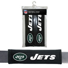 NIP NFL NEW YORK JETS SEAT BELT PADS VELOUR PAIR