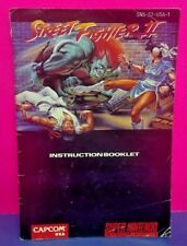 Street Fighter II -  SNES Super Nintendo - Instruction MANUAL ONLY - No Game