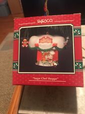 Enesco Christmas Ornament: Sugar Chef Shoppe: Mouse Bakery New in box