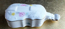 Vintage Rosalind Fine bone china Trinket box the shape of a Violin collectable