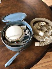 Vintage Dominion Bonnet Portable Hair Dryer With Travel Case Model 1825