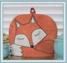 PATTERN - The Cozy Fox - cute tea cozy PATTERN - Susie C Shore
