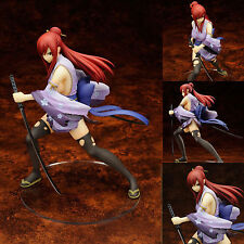 """8"""" Anime Fairy Tail Erza Elza·Scarlet Battle Ver. 1/7 Figure Toy Doll New in Box"""