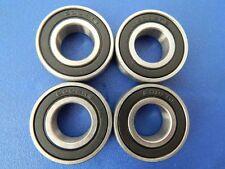 4 Pièce 6002 2RS (15x32x9 mm) Roulement à Bille, Roulements à Billes