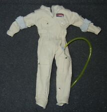 1/6 12 inch scale Ghostbusters Mattel Fabric Jump Suit Overalls Great for custom