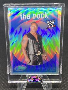 2007 eTopps WWE The Rock Dwayne Johnson RARE SP /999 ETW-4 TOPPS REFRACTOR