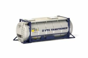 """WSI 04-2000 20 FT Tank Container VTG Tanktainer Trailer Load 1:50 """"NEW IN BOX"""""""