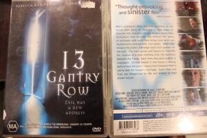 13 GANTRY ROW DELETED DVD RARE HORROR REBECCA GIBNEY & JOHN ADAM AUSTRALIAN FILM