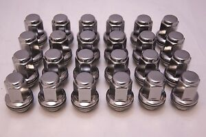 24 New Toyota Tacoma 4 Runner Factory OEM Stainless Lug Nuts Lugs 90084-94002