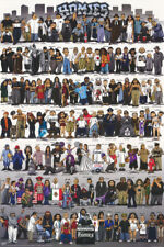 POSTER : CARTOON : HOMIES - WHO'S WHO - FREE SHIPPING     #2844      RAP104 B