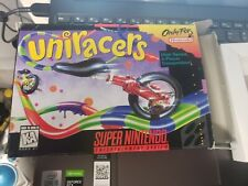 NINTENDO SNES UNIRACERS  BOX ONLY    NO GAME!!