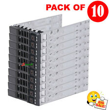 "10* 2.5"" SAS SATA Tray Caddy For Dell 0G176J R820 R720 R620 R520 R715 R815 R810"