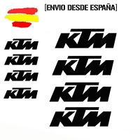 Vinilo de corte pegatinas X8 logos ktm moto casco sticker decal
