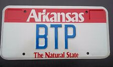 "ARK VANITY LICENSE PLATE ""BTP "" BRIAN BILL BOB BETTY PETERS POWELL PORTER POWERS"