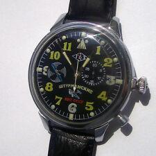 Rare Military Russian (USSR) Militarian Chronograph 2 GChz Poljot  Shturmanskie