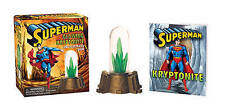 Superman: Glowing Kryptonite and Illustrated Book: WITH Glowing Kryptonite and Illustrated Book by Donald Lemke (Mixed media product, 2013)