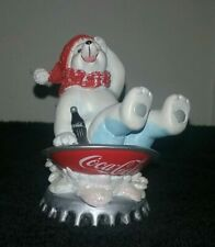 Coca Cola Polar Bear Cub Wintertime Wonder Collection - Refreshment All The Way""