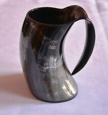 Viking Bar Mug Real Horn Handmade From Natural Material