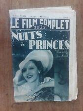 Magazin Film Komplett Les Nuits De Prinzenzepter Kate De Nagy Jean Murat 1938