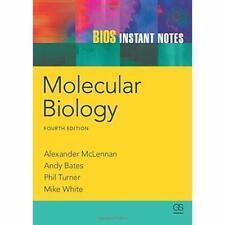 BIOS Instant Notizen in Molekularbiologie-Taschenbuch NEU Alexander mclen 2012-05 -