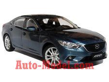 1:18 FAW Mazda 2014 Mazda 6 Atenza Blue Reflex Dealer Edition