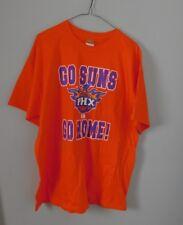 """Phoenix Suns Orange Graphic T Shirt Mens Size XL """"Go Home"""""""