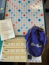 Vintage Scrabble Deluxe Board Game Turntable Spears Games