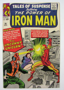 Tales of Suspense Iron Man Silver Age Comic Book #56 Marvel 1964 Nice!