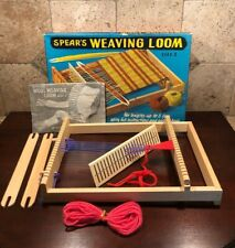 Vtg Spears Weaving Loom Size 2 Complete with Instruction Book/Patterns England