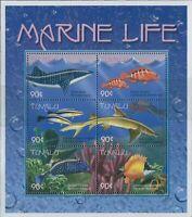 Tuvalu 2000 SG907a Marine Life sheetlet MNH