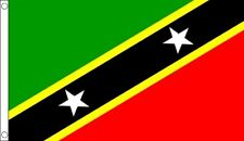 St Kitts & Nevis Flag 3 x 2 FT - 100% Polyester With Eyelets - Country National