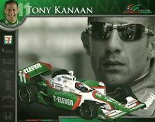 2006 Tony Kanaan 7-Eleven Honda Dallara Indy Car postcard