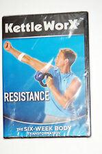 KettleWorX Resistance 6-Week Body Transformation Ryan Shanahan FREE SHIPPING