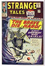 Strange Tales #139 The Brave Die Hard! Nick Fury! Marvel Comic Book ~ Fn-