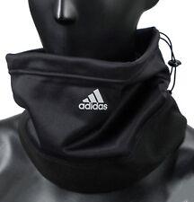 Adidas Climawarm Fleece Neck Warmer Running Black Face Mask OSFM Scarf DM4409