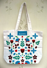 Elemis White Patterned Patterned Tote Bag - New