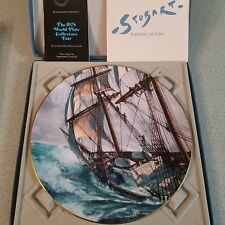 Vintage Royal Doulton Collectors Plate Rounding The Horn By John Stobart 1978